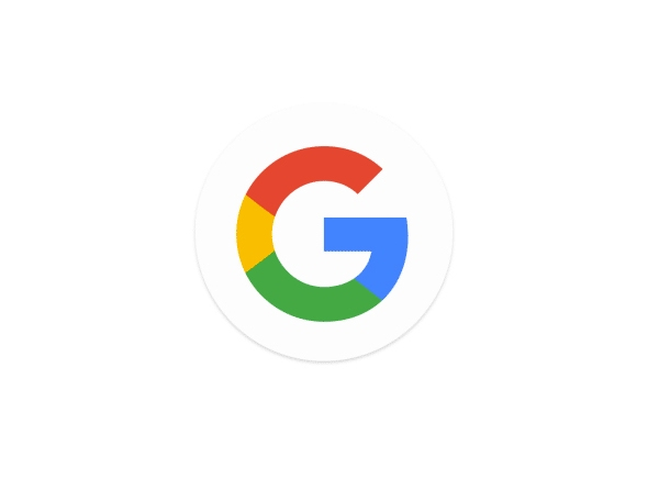 Colorful new Google Logo.
